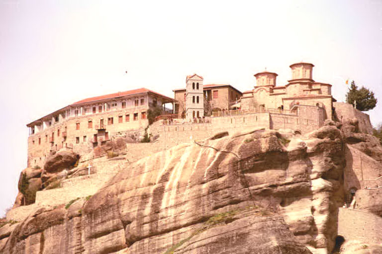 Megalou Monastery, Meteora, Greece