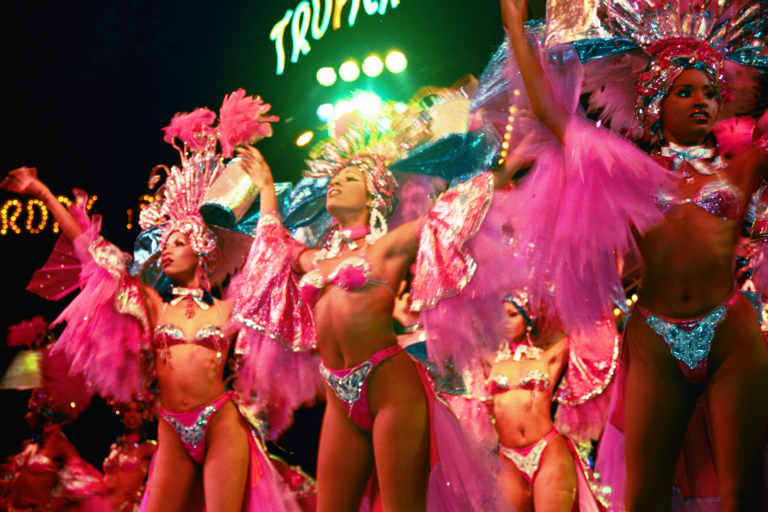 Showgirls performing at Havana's Tropicana Night Club