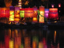 Lanterns Aglow