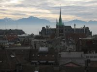 Lausanne and the Alps