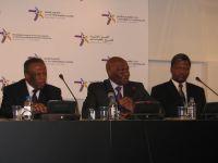 Festus Mogae, Abdoulaye Wade and Themba Dlamini